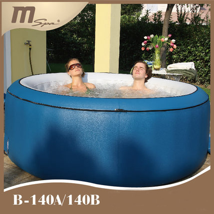 Inflatable Portable Bubble Massage Jet Spa Pool Whirlpool Hot Tub Outdoor Bathtub Mspa B140A 4 person