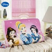 Pink Cartoon Princess Memory Pillows 40x25cm Bedroom Decor Kids Girl's Baby Cot Crib Bed Bedding Slow Rebound Wave Foam Sleeping