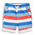 EUR summer clothes cotton children beach sports male pants striped mid knee length boys shorts pants teen trousers toddler harem
