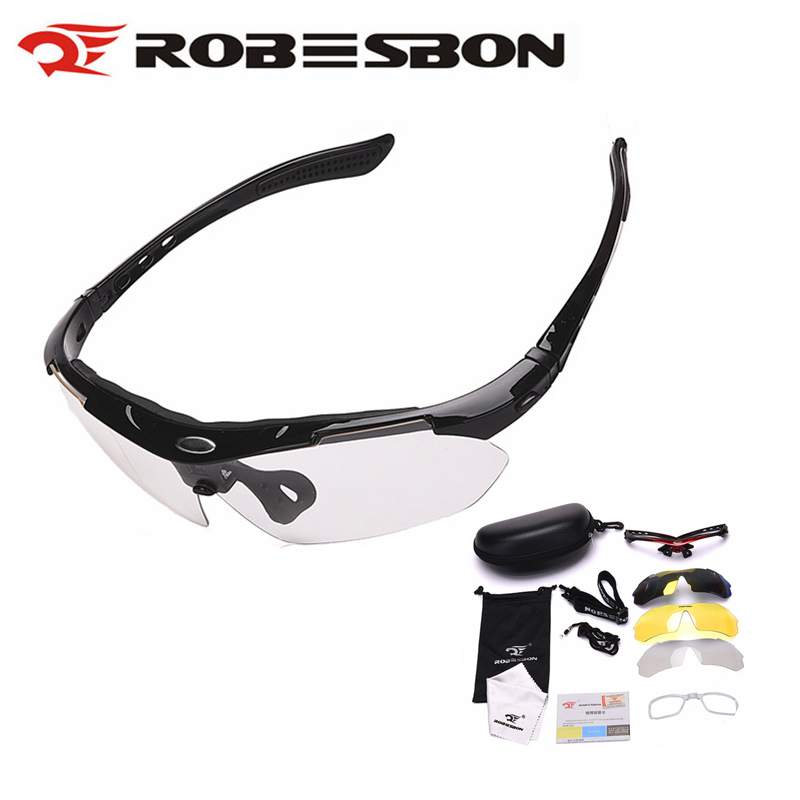 Photochromic Hiking Eyewear Outdoor Sports Sunglasses Hunting Camping Eyewear Myopia Frame Fishing Cycling Bike Glasses Goggles