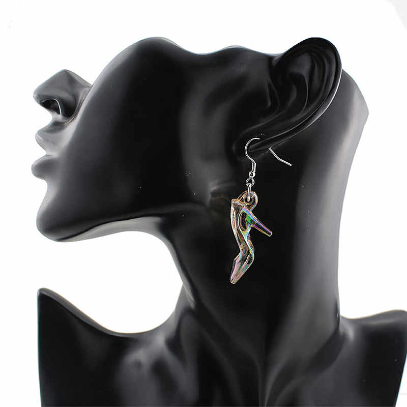 Timlee  E149 Free Shipping New Exquisite Personality High-heeled Shoes Dangle Earrings,Fashion Jewelry Wholesale