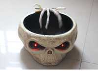 HallHalloween Induction control ghost hand sugar bowl electric toy skeleton LED haunted house props
