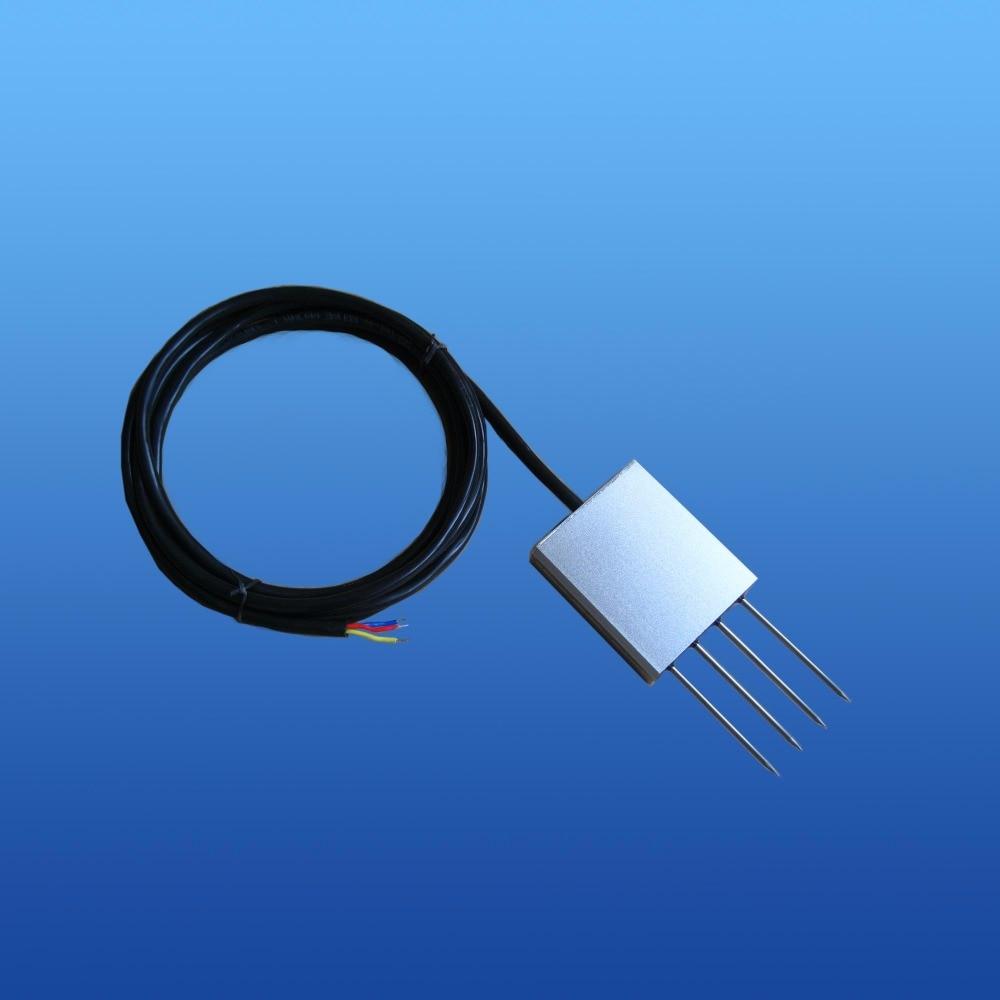 240 mg/L ~ 6000 mg/L, 600 mg/L ~ 15000 m EC du sol (conductivité électrique de la salinité) capteurs de fil 0.2 ~ 12 mS 0 ~ 5 V 0 ~ 10 V 4 ~ 20mA DC24V EC capteur