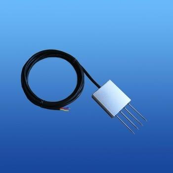 240mg/L~6000mg/L,600mg/L~15000m Soil EC(salinity electrical conductivity)0.2~12mS wire sensors 0~5V 0~10V 4~20mA DC24V EC Sensor