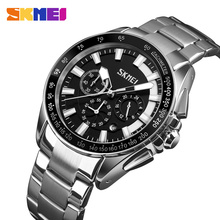 SKMEI Watch Men Fashion Sports Quartz Clock Mens Watches Top Brand Luxury Business Waterproof Relogio Masculino 9167