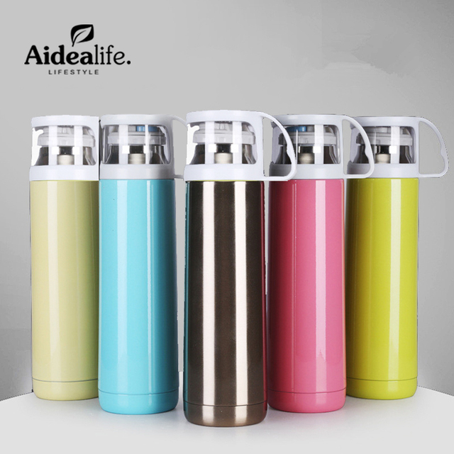 vacuum insulated stainless steel 500ml thermos travel mug cute water bottle  women thermo for sale camo cups coffee camping-in Vacuum Flasks   Thermoses  from ... 51bf6c5d73