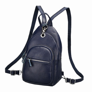 Image 5 - ファッション女性バックパック本革バッグ女の子胸パックスクールバッグ用ティーンエイジャーレディー女性旅行バッグ多機能