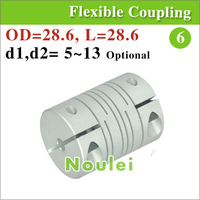 Stepper Motor Shaft Coupling Acoplamiento Eje 12 Mm Connector Parallel Linear Type For Cnc With Clamps