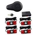 Sensores de estacionamento Sensor De 13mm com 4 13mm Sensor de OEM Original Super Qualidade Com Buzzer BiBi Alarme Preto Branco prata