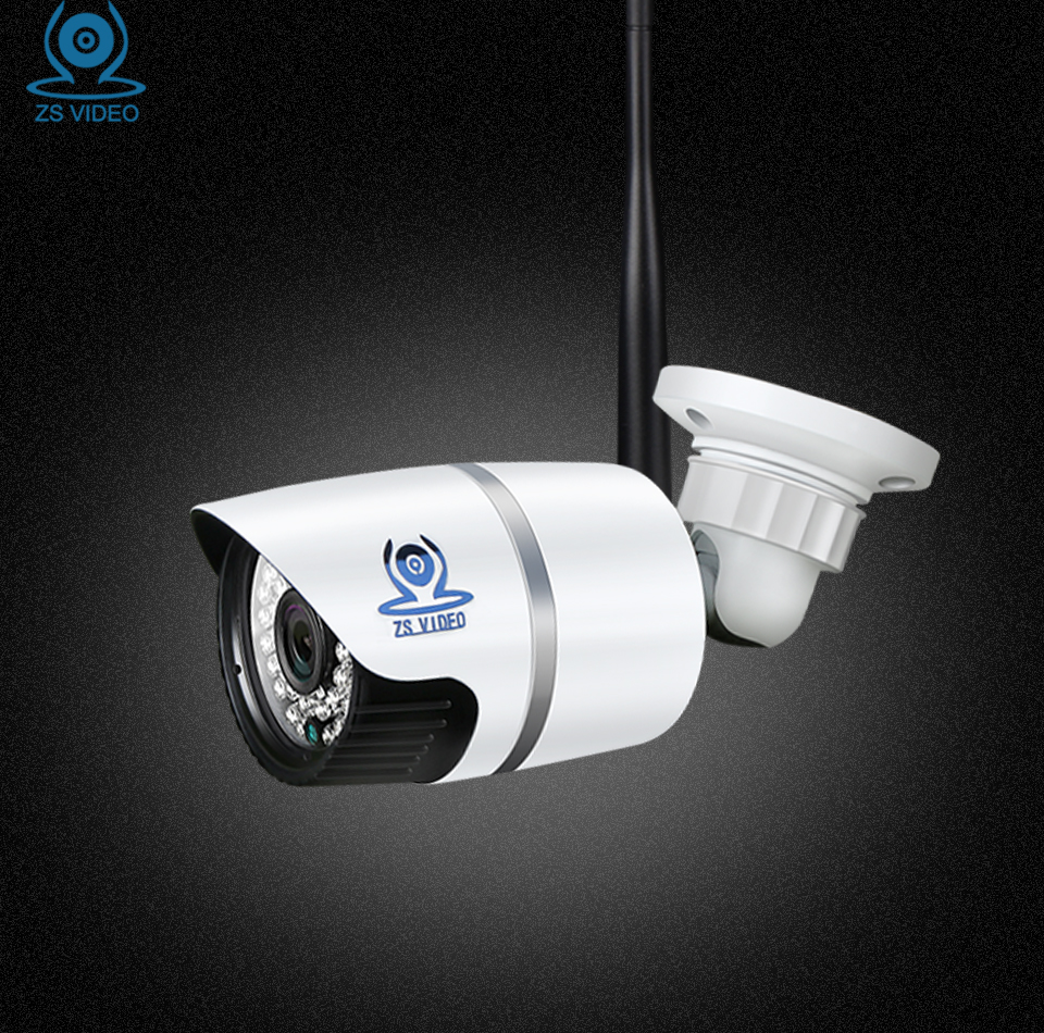 ZSVEDIO Surveillance Cameras Wireless IP Camera CCTV Camera WIFI IP Cameras Outdoor Waterproof HD IR Night