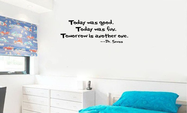 Today Was Good...dr seuss wall decal quote home decoration wall art decal  sc 1 st  AliExpress.com & Today Was Good...dr seuss wall decal quote home decoration wall art ...