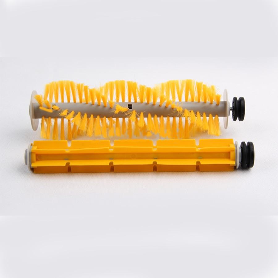 (For Cleaner-A320/A325/A330/A335/A336/A337/A338,A590) Spare Part For Robot Vacuum Cleaner, Rubber Brush,Side Brush