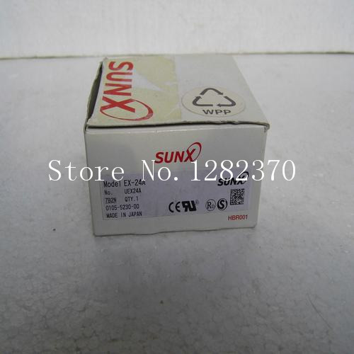 [SA] New Japan genuine original SUNX sensor switch EX-24A Spot --2PCS/LOT adda ad7512hb 7530 dc12v 0 24a