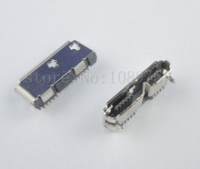 10Pcs 10Pin Micro USB 3.0 Female SMD SMT Socket PCB Soldering Connector Copper