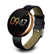 Bluetooth Smart Uhr Sport Armbanduhr Smartwatch Gesundheit Pulsmesser Stahl Für IOS Android Phone Wearable Geräte Luxus