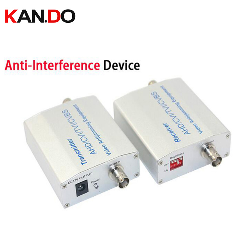 1ch HD CVI/TVI/AHD/CVBS Video Antijamming Device Video Signal Amplifier Repeater 500M For Lift /Tower /Power Plant Harsh Place