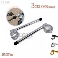 1 Pair 7 8 Universal Motorcycle CNC 37mm Clip Ons Handlebars Aluminum Clipon Fork Handle Bars