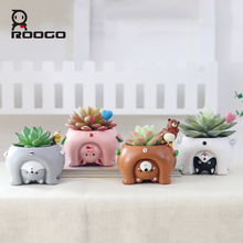 roogo creative animal shape different angle whtch to see the world make you feel good mood for mother best gift all love