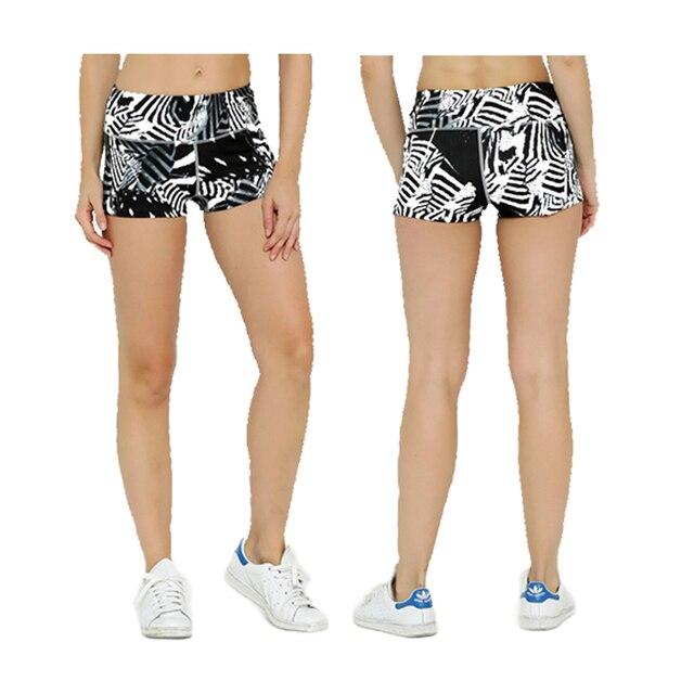 Summer Women/girls Sexy Shorts Female Short Trousers Women Elastic 3D Print Trousers