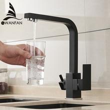 Robinet de cuisine avec filtre deau mitigeur en laiton, robinet de cuisine, purification, évier, eau robinet grue pour cuisine WF 0179