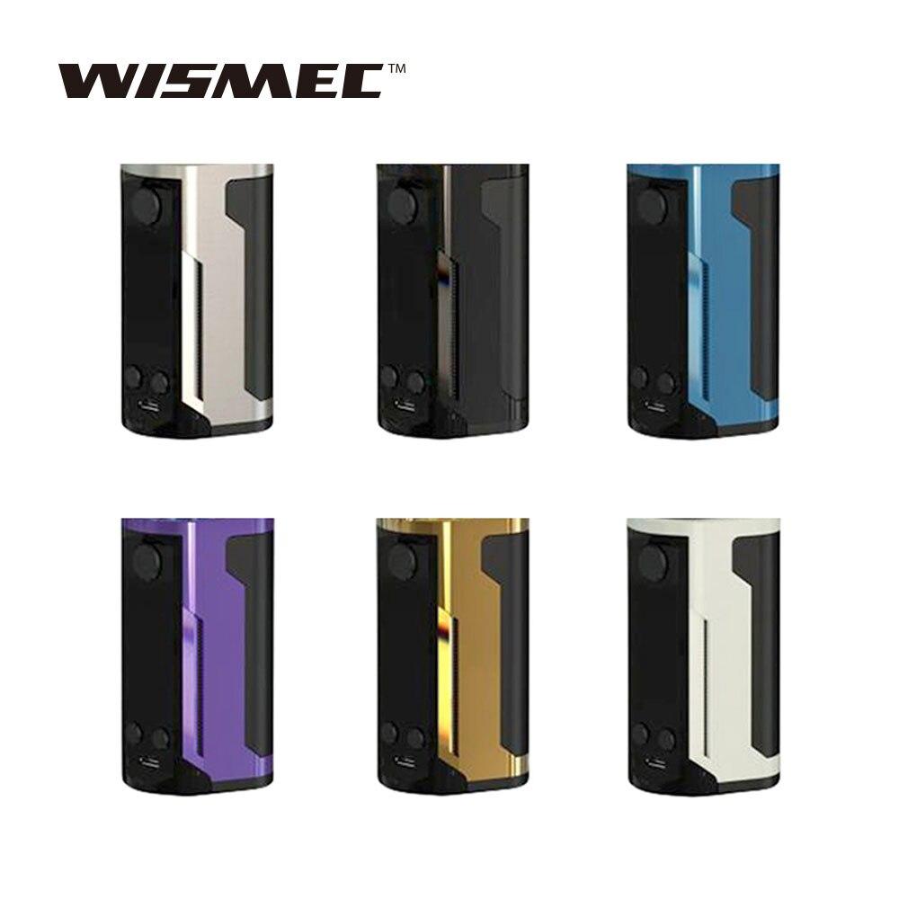 D'origine WISMEC Reuleaux RX GEN3 Double 230 W TC Boîte MOD avec Max 230 W Sortie et 1.3-pouces Grand Écran E-cig Vape Mod Pas batterie