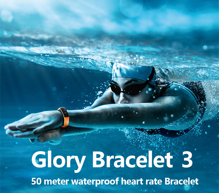 New original huawei glory Bracelet 3 Smart Bluetooth motion,heart rate,sleep monitoring,waterproof Wrist Watch For xiaomi 2 1