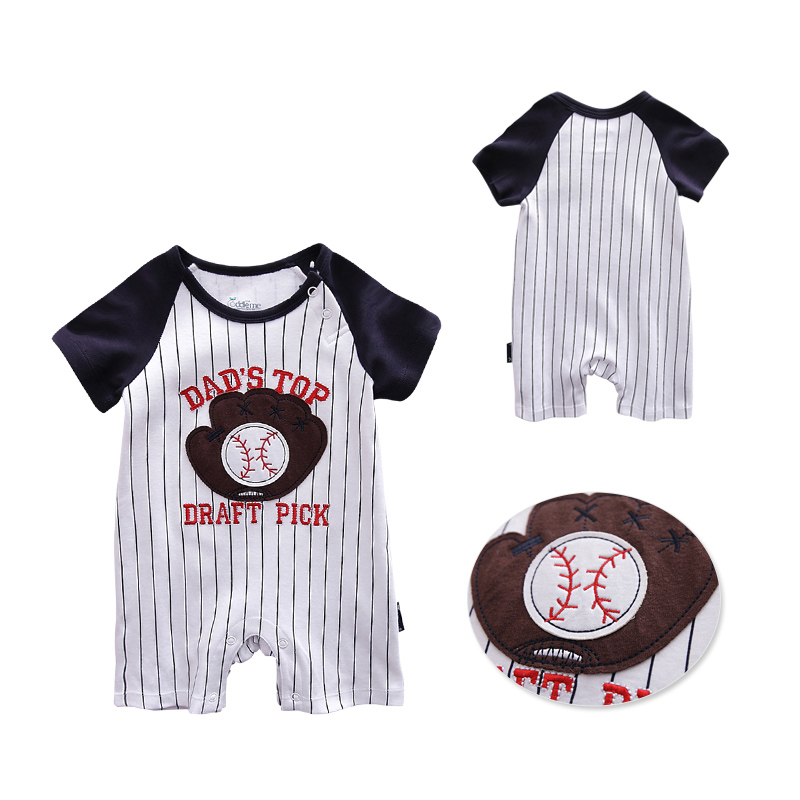 Honkbal Outfits voor kinderen trainingspak Jumpsuit Baby Romper - Babykleding - Foto 2