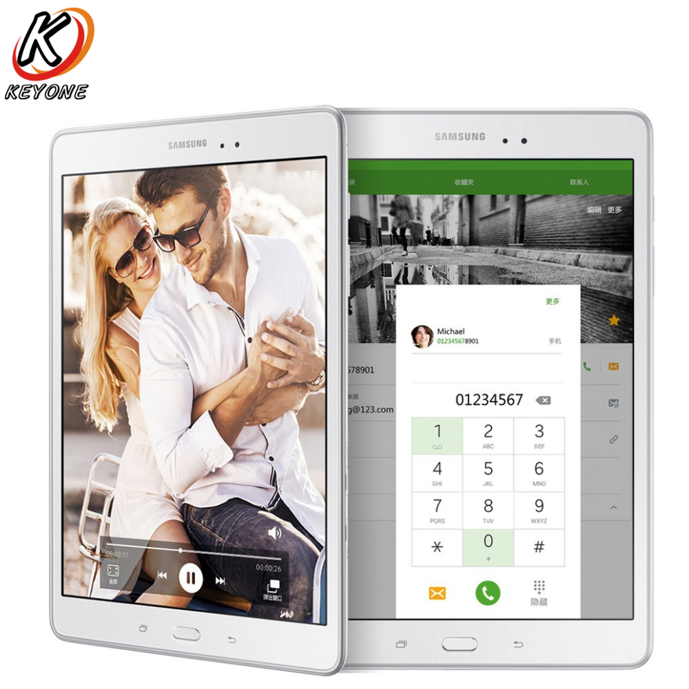 Original New Samsung GALAXY Tab A T550 WIFI Tablet PC 9.7 inch 1.5GB RAM 16GB ROM Quad Core 1.2GHz Android Dual Camera 6000mAh original samsung galaxy tab e t377t wifi 4g t mobile tablet pc 8 0 inch 1 5gb ram 16gb rom quad core android 5000mah dual camera