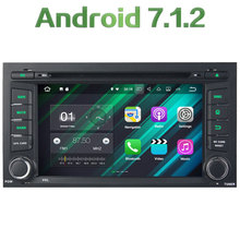 Quad Core 2GB RAM 16GB ROM Android 7.1.2 Stereo GPS Navigation Stereo Radio 1 Din car multimedia radio player for Seat Leon 2014