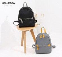 Moljeaga женские рюкзаки дизайнер заклепки натуральная кожа рюкзак женщин водонепроницаемый нейлон школьные сумки для путешествий рюкзак Mochila