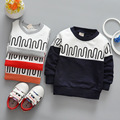 100% cotton print baby boy costume for kids long sleeve pullover boys clothes infantil t shirt 2017 tops 3-OM135