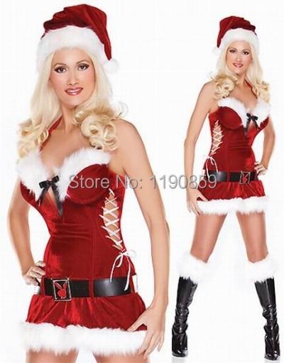 Lingerie christmas costumes for women