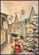 Needlework for embroidery DIY DMC High Quality - Counted Cross Stitch Kits 14 ct Oil painting - Celebrate Christmas