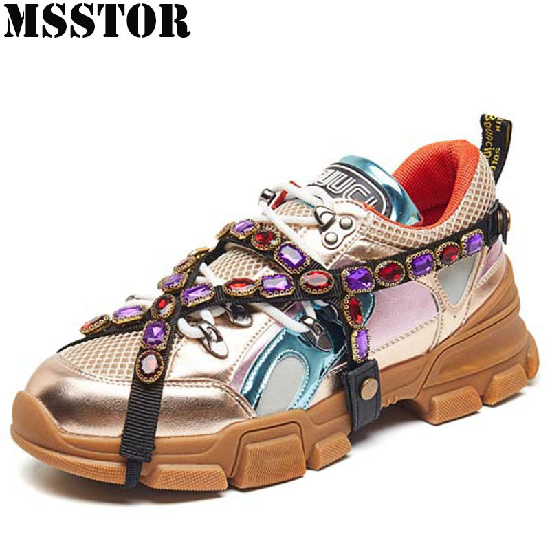 MSSTOR New Arrivals Womens Running Shoes Summer Breathable Mesh Women Sport Shoes Ladies Brand Outdoor Athletic Woman Sneakers