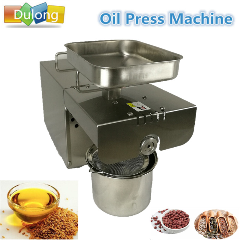 Hot Sale Stainless steel automatic small seed oil extraction machine cold oil press oil expeller mini oil press machine for home