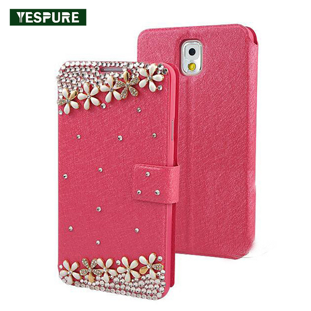 super popular 5b322 be260 US $10.87 |YESPURE Fancy Phone Accessories Covers for Samsung Galaxy S6  Wallet Case for S7 Leather Wallet Luxury Women Bling Gliter Cases-in Flip  ...