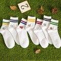 New Hot Moda Feito À Mão Outono E Inverno Meia Lazer bola de Algodão Calcetines Hombre Respirável Sporting Sock para Homens Presente 95Z
