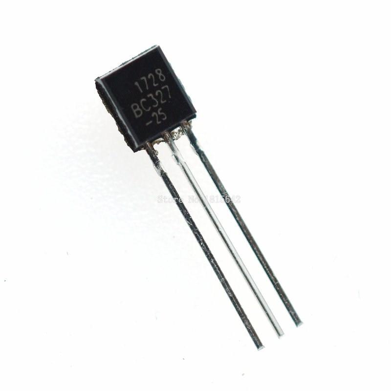 100PCS/LOT BC327 BC327-40 BC327-25 PNP TO-92 500MA 45V Transistor