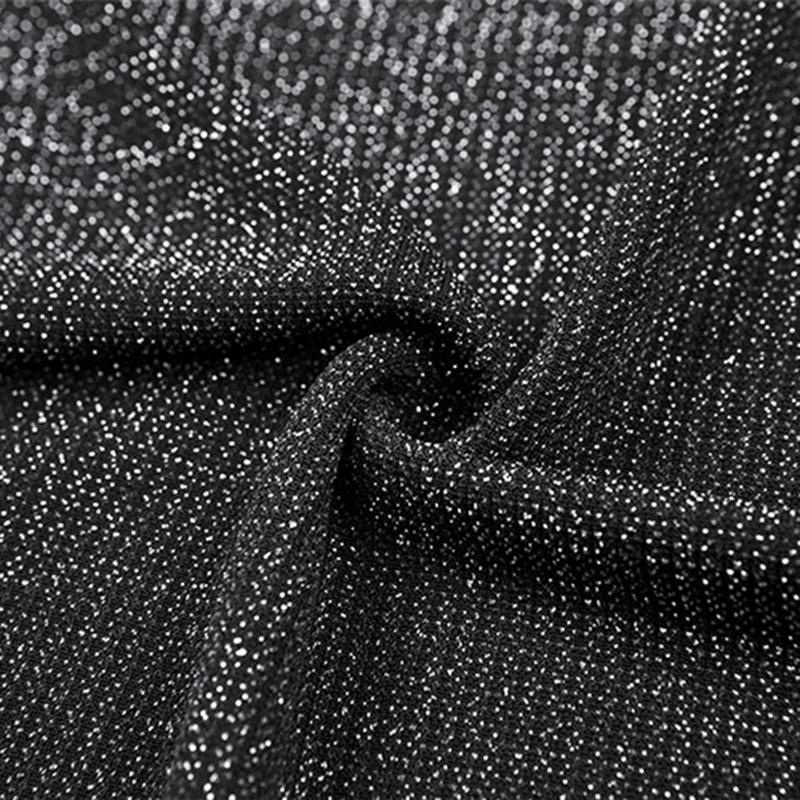 b555305d89 Hollow out shoulder long sleeve dress women Slim fit glitter bodycon dress  Autumn turtleneck dresses Elegant black vestido mujer