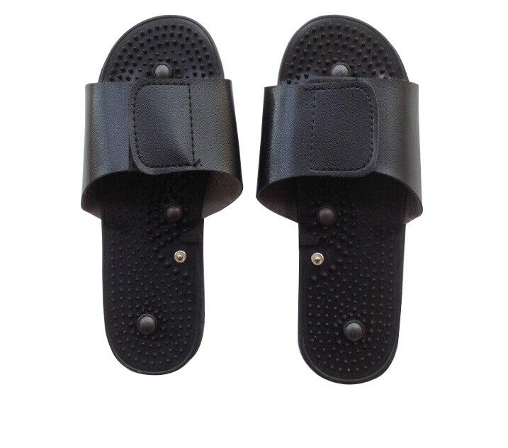 massager slipper for digital therapy machine/ tens machine Foot massage slippers Foot reflexology massager +Free shipping 4d massager