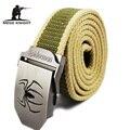 Army Tactical Cinturón Cinturón de Hebilla Automática Cinturón de Nylon Masculinos Vaqueros Para Hombre Correa de Cintura Cinturones de Diseñador Hombres de Alta Calidad de Lujo Ceinture Femm