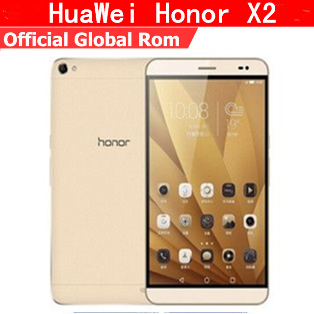Original HuaWei Honor X2 Mediapad X2 4G FDD LTE Mobile Phone Kirin 930 Android 5.0 7 Inch IPS 1920X1200 3GB RAM 32GB ROM 13.0MP
