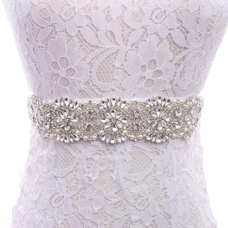 Luxury Vintage Full Rhinestone Beaded Bridal Wedding Belt