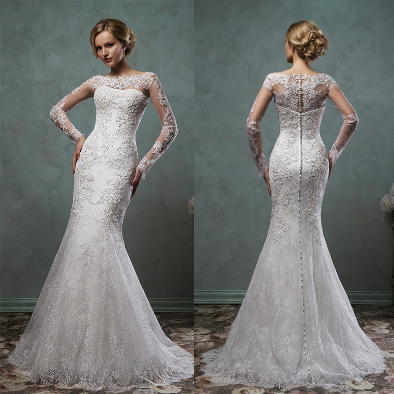 Popular Wedding Dress with Lace Coat-Buy Cheap Wedding Dress with