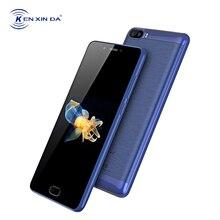 KenXinDa S9 5,5 pulgadas Smartphone 4G LTE Celular Android 7,0 2 GB + 16 GB MTK6737 Quad Core 13.0MP 5000 mAh Fingerprint teléfono móvil