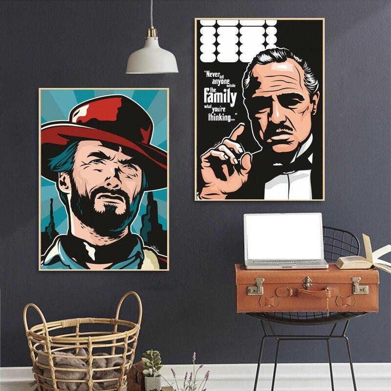 Clint Eastwood Dirty Harry Vintage Movie Art Silk Poster 12x18 24x36