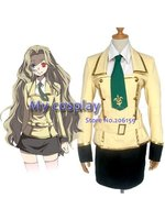 Anime Code Geass Cosplay Lelouch of the Rebellion Cosplay Dress Costume Women's Party Costume Free shipping