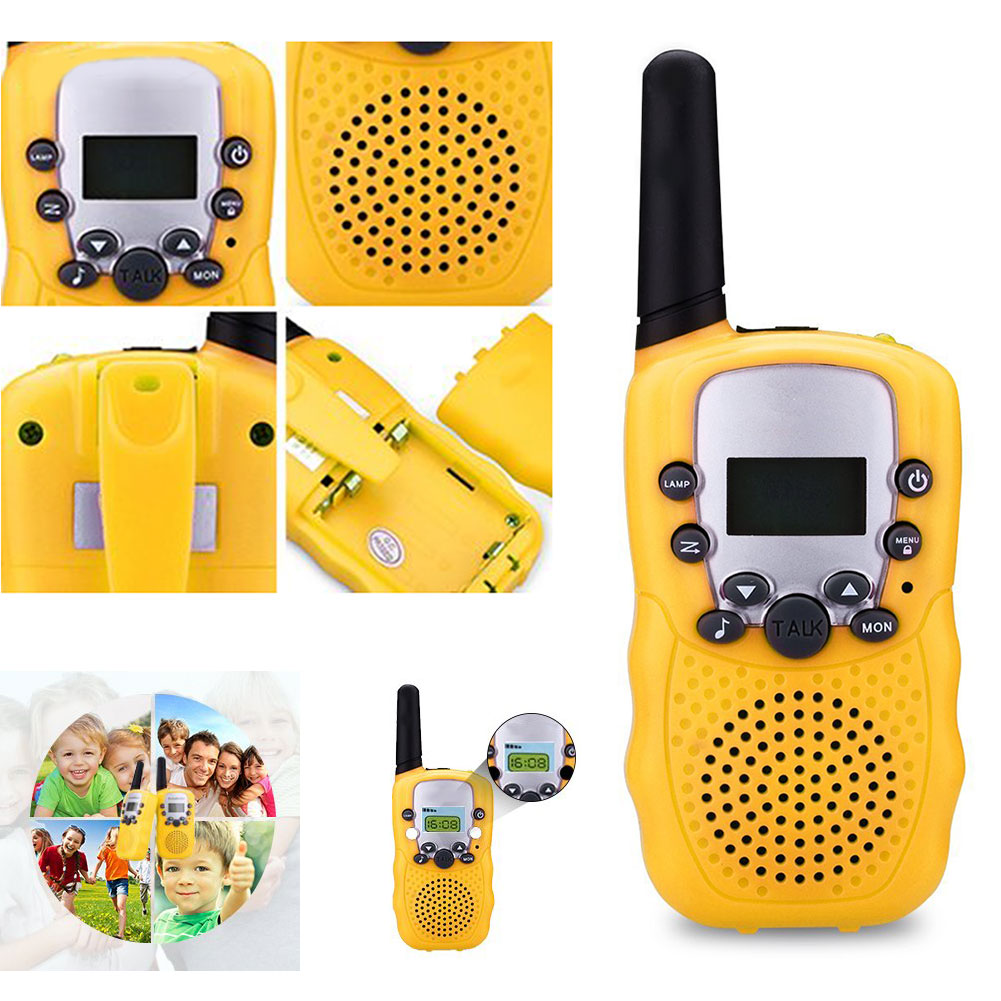 Hot Deals2pcs/Set Transceiver Walkie-Talkies Two-Way-Radio M09 Long-Range Kids Children Handheld