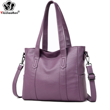 цены на Luxury Women Handbags Designer Large Capacity Tote Bag Fashion Shoulder Bag Female Brand Leather Crossbody Bags for Women Bolso в интернет-магазинах