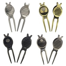 Strong magnetic Golf Divot Tool With Money Clip, Golf Pitch Repairer, Pith Fix Tool, Golf Accessory